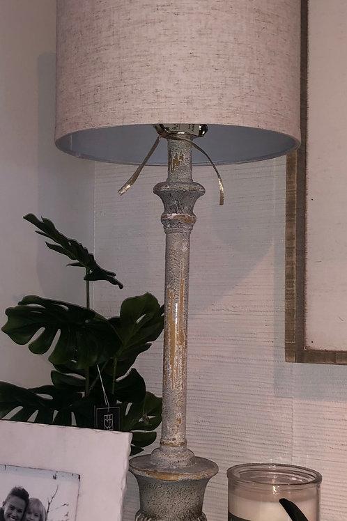 Antique Distressed Lamp