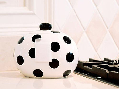 Coton Colors Happy Everything Jar- Black Dot