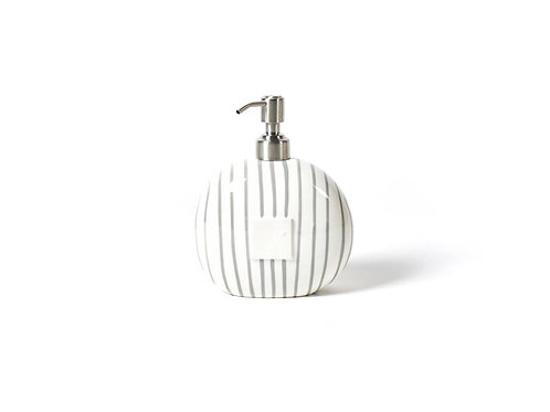 Coton Colors Stone Stripe Mini Soap Pump
