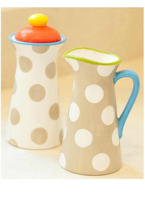 Coton Colors Cream & Sugar Set