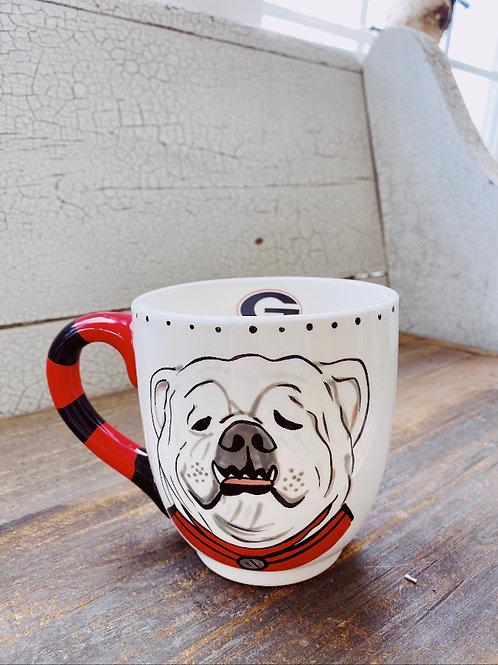 GA Dawgs Mug