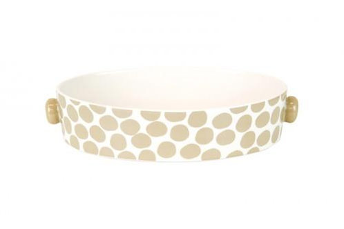 Coton Colors Small Pebble Plank Oval Casserole