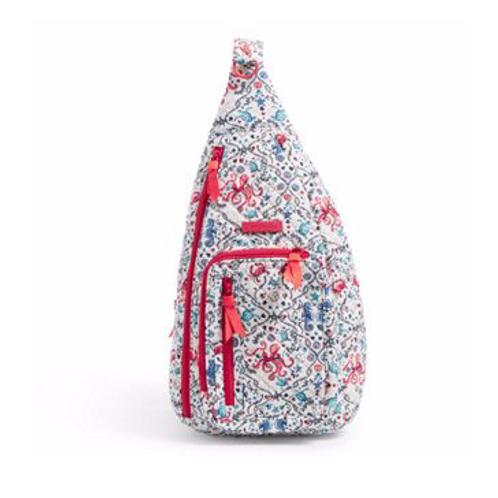 Vera Bradley Iconic Sling Backpack - Sea Life