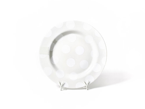 Coton Colors White Dot Entertaining Big Platter