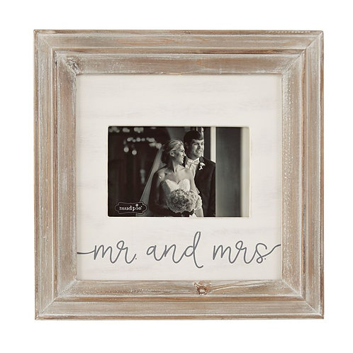 Large Mr and Mrs Picture Frame