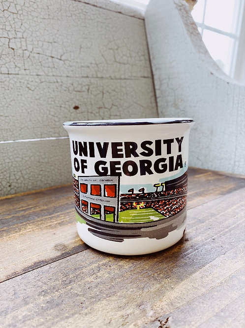 UGA campfire Mug