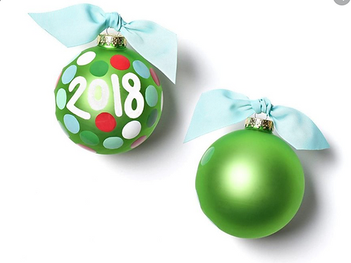 2018 Coton Colors Ornament