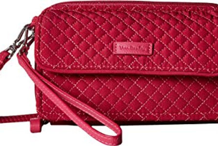 Iconic RFID All in One Crossbody Passion Pink