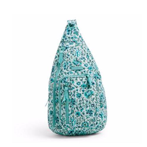 Vera Bradley Iconic Sling Backpack - Cloud Vine