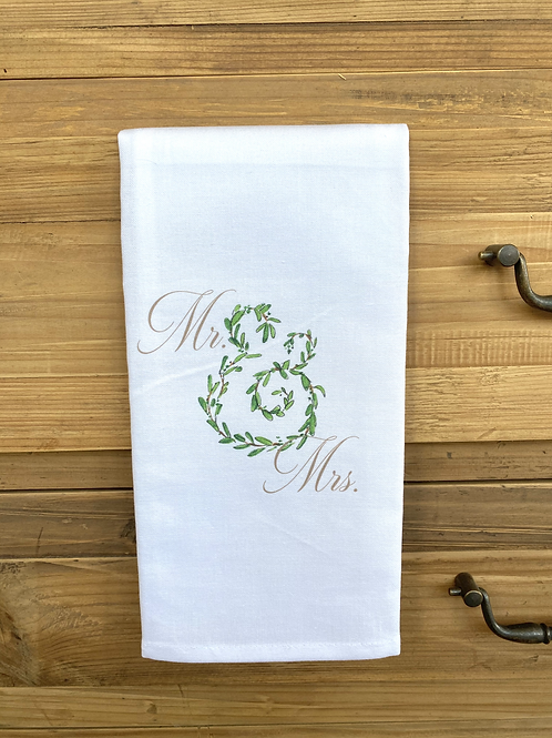 Mr & Mrs Kitchen Towel
