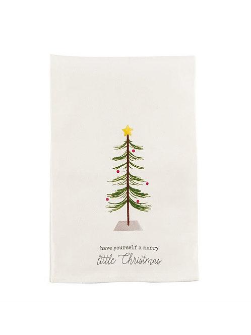 Tree Icon Tea Towel