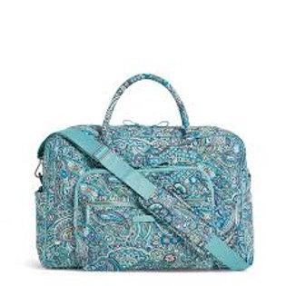 Iconic Weekender Travel Bag Daisy Dot Paisley