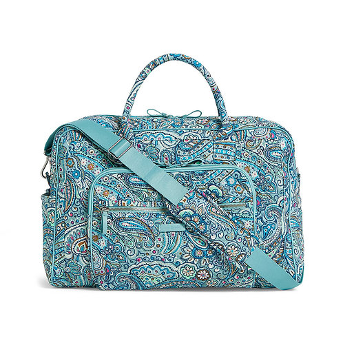 Iconic Grand Weekender Travel Bag Daisy Dot Paisley