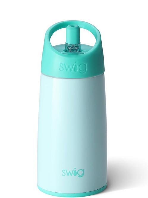 Swig Glossy Seaglass Flip & Sip Bottle (12oz)