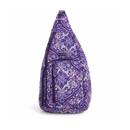 Vera Bradley Iconic Sling Backpack - Regal Rosette