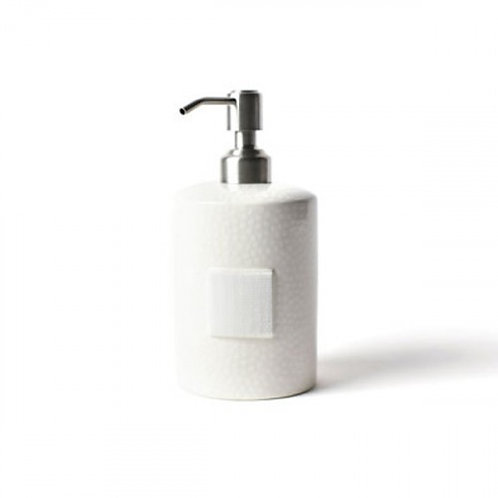 Happy Everything White Small Dot Soap Dispenser