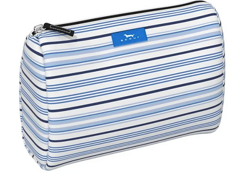 Scout Packin' Heat Makeup Bag - Out of the Blue