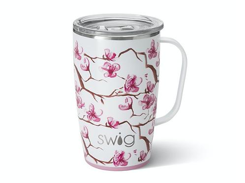 Cherry Blossom Travel Mug (18oz)