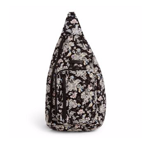 Vera Bradley Iconic Sling Backpack -Holland Garden