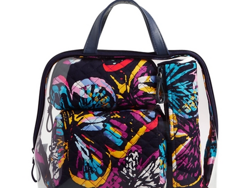 Vera Bradley Iconic 4 Pc. Cosmetic Set - Butterfly Flutter