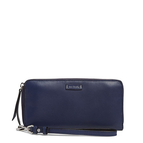 Gallatin RFID Accordion Wristlet Moonlight Navy