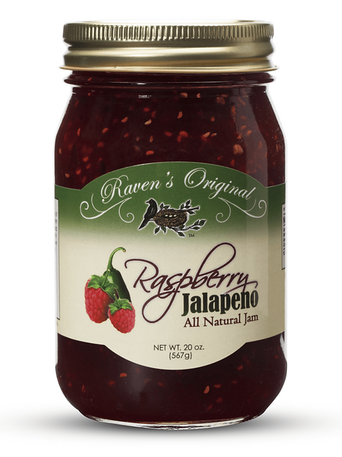 Raspberry Jalapeno Jam (20 oz.)
