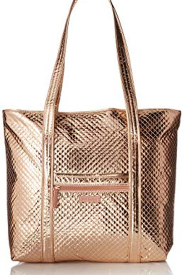 Iconic Vera Tote Rose Gold Shimmer