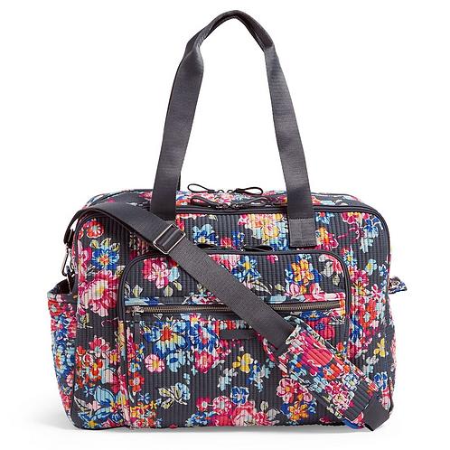 Vera Bradley Deluxe Weekender Travel Bag - Pretty Posies