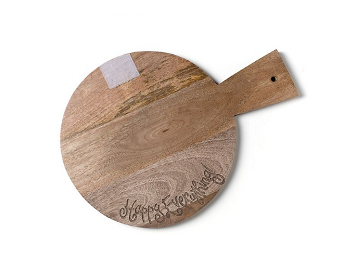 Wooden Mini Happy Everything! Serving Board