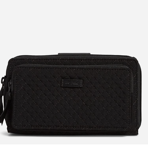 RFID Deluxe All Together Crossbody Classic Black