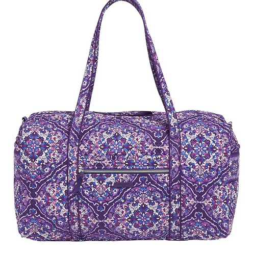 Vera Bradley Large Travel Duffel - Regal Rosette
