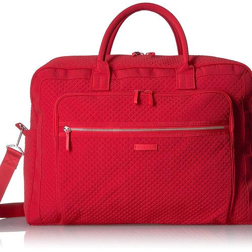 Iconic Grand Weekender Travel Bag Cardinal Red