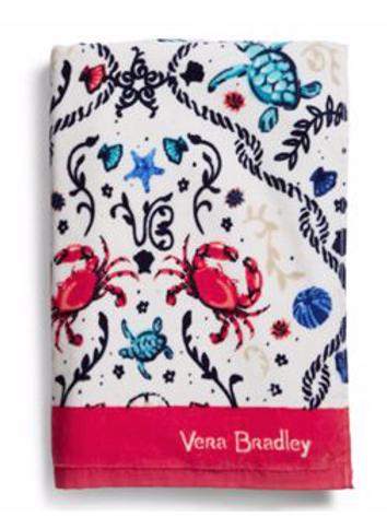 Vera Bradley Beach Towel - Sea Life