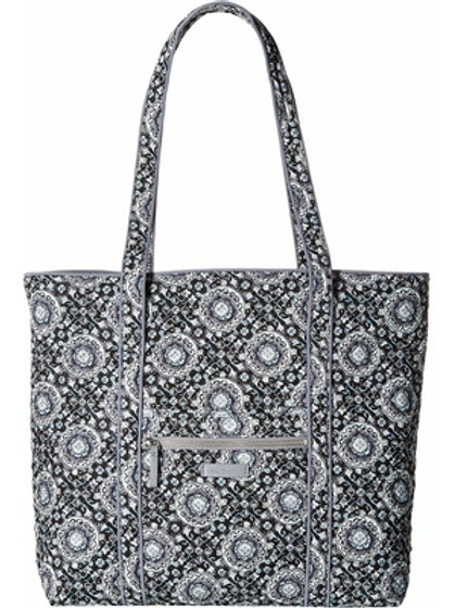 Iconic Small Vera Tote Charcoal Medallion