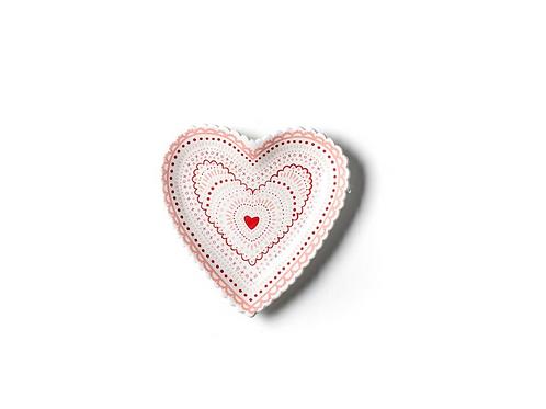 Heart Doily Plate