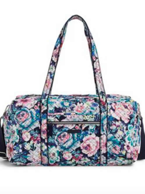 Vera Bradley Medium Travel Duffel - Garden Grove