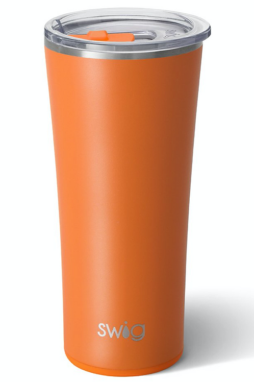 Swig Matte Orange Tumbler (22oz)