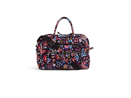 Vera Bradley Weekender Travel Bag - Foxwood