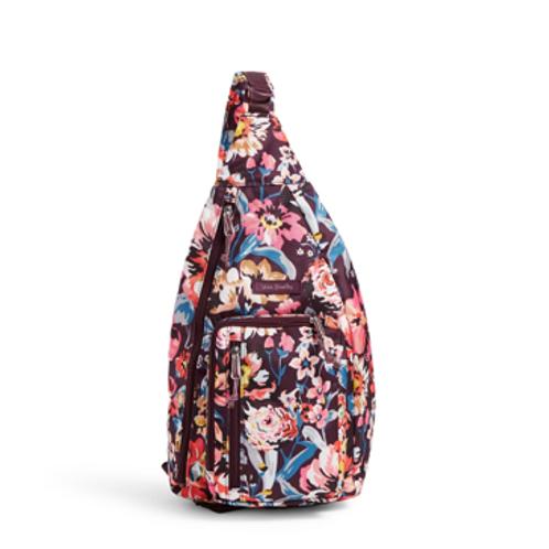 Vera Bradley Lighten Up Sling Backpack - Indiana Blossom