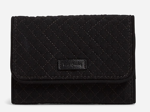 RFID Riley Compact Wallet Classic Black