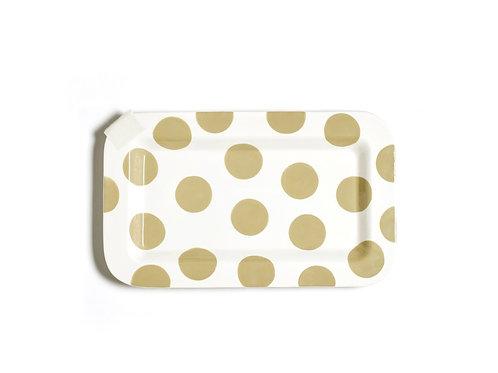 Coton Colors Neutral Dot Mini Entertaining Platter
