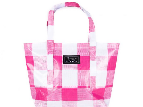Toteworthy Shoulder Bag - Pink Check