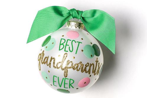 Best Grandparents Ever Ornament