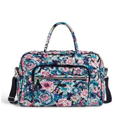 Vera Bradley Weekender Travel Bag - Garden Grove