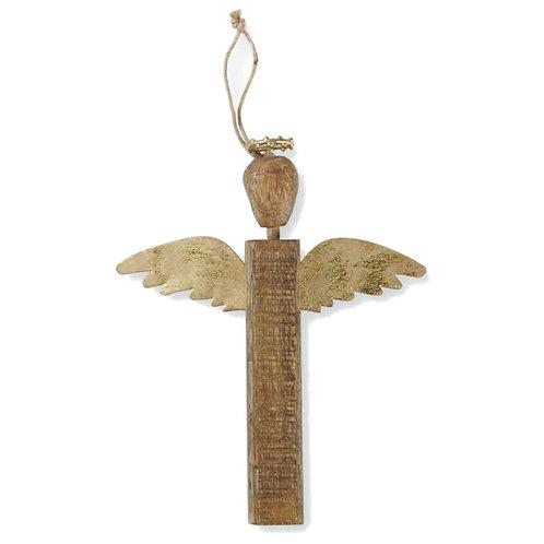 Wood Angel Ornament