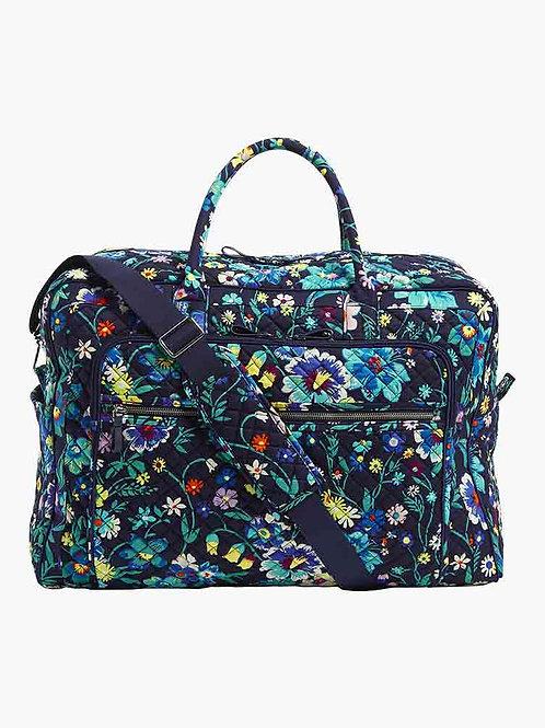 Iconic Grand Weekender Travel Bag Moonlight Garden