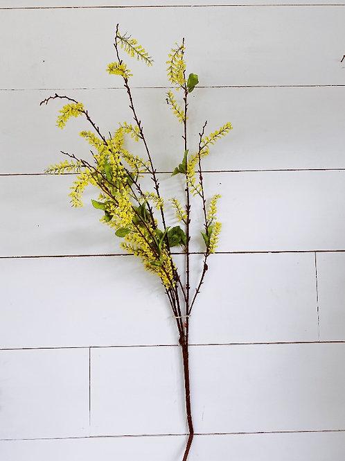 Yellow Flower Bud Spray