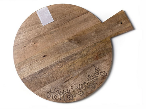 Wooden Big Happy Everything! Serving Board
