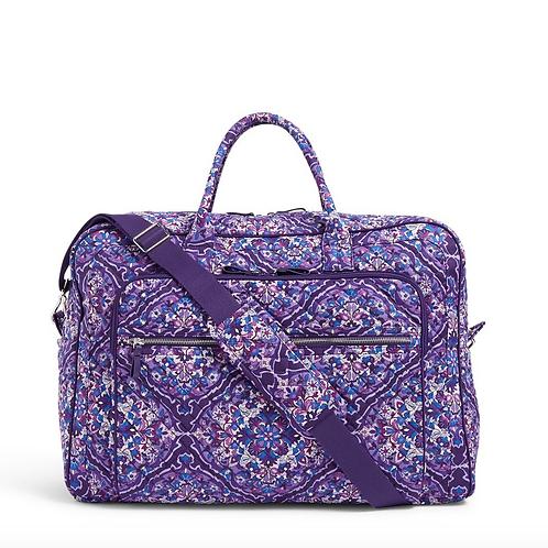 Vera Bradley Grand Weekender Travel Bag - Regal Rosette