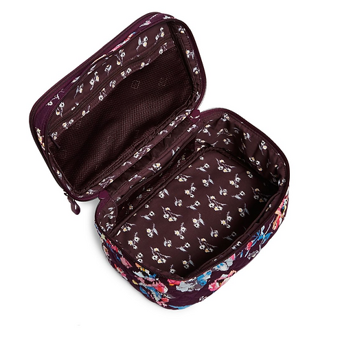 Vera Bradley Iconic Brush Up Cosmetic Case - Indiana Rose